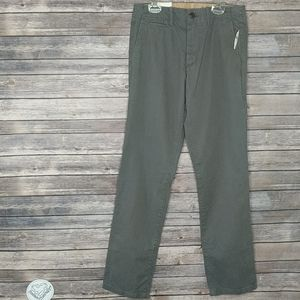 GAP The Lived In Straight Grey Pants NWT 29 x 32